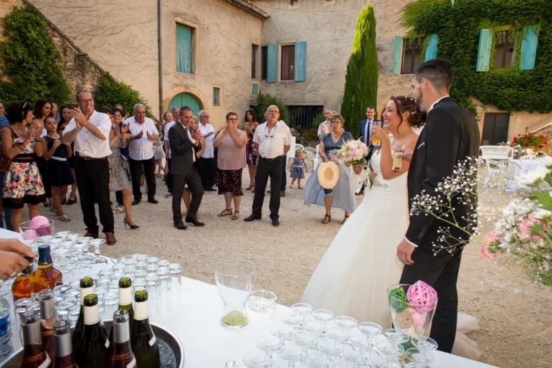 le vin d'honneur et la soirée